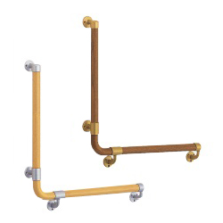 L Type Round Bar Handrail, Left/Right
