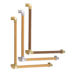 L Type Round Bar Handrail