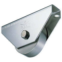 Stainless Steel Flat Type Heavy-Duty Door Roller with 440C Bearings