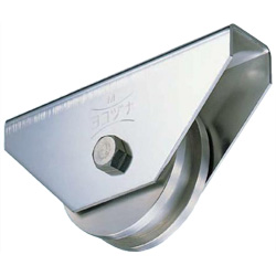 Stainless Steel H Type Heavy-Duty Door Roller with 440C Bearings