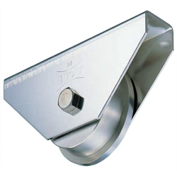 Stainless Steel Trolley Car Type Heavy-Duty Door Roller with 440C Bearings