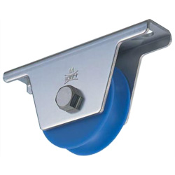 MC Soundproof Heavy-Duty Door Roller with Rounded Grooved Wheel