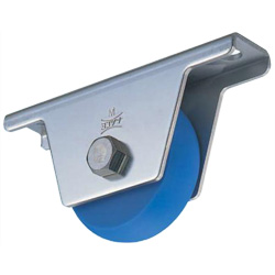 MC Soundproof Heavy-Duty Door Roller with Rounded Ridged Wheel