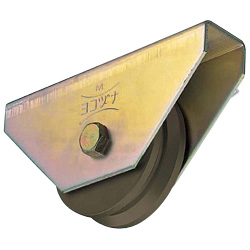 S45C Heavy-Duty V Type Door Roller