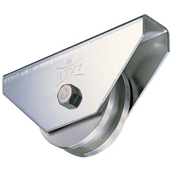 Wide Type Stainless Steel Heavy-Duty H Type Door Roller