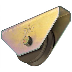 Wide Type S45C Heavy-Duty V Type Door Roller