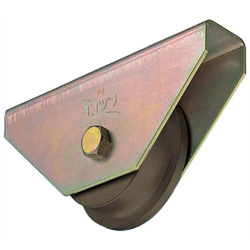 Wide Type S45C Heavy-Duty Trolley Car Type Door Roller