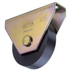 Rota Flat Type Heavy-Duty Iron Door Roller