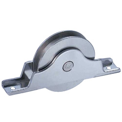 Stainless Steel Grooved Type Door Roller with Bearings