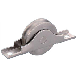 Rota Stainless Steel Round Type Door Roller with Bearings