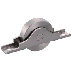 Rota Stainless Steel Flat Type Door Roller with Bearings