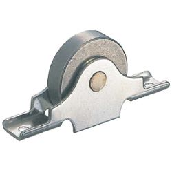 Rota Stainless Steel Flat Sleeved Type Door Roller with Bearings