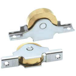 Flat Sleeved Type Brass Door Roller with 440C Bearings