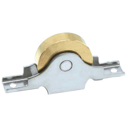 Flat Sleeved Type Brass Door Roller with Bearings