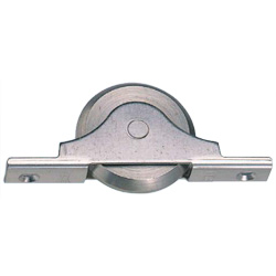 Stainless Steel Framed V Shaped Stainless Steel Roller with Ball Bearings