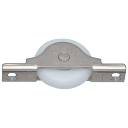 Stainless Steel Frame U Shaped Door Roller with Bearing and Duracon® Wheel