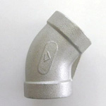 Stainless Steel Screw - Pipe Fitting 45° Elbow