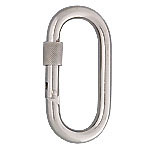 Stainless Steel Carabiner with Nut