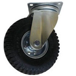 Swivel Wheel with No-Puncture Air-Less Tire