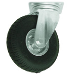 Swivel Wheel with No-Puncture Foaming (Cushion) Rubber Tire