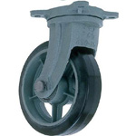 Swivel Wheel with Rubber Wheel for Heavy Loads (HB-g Type) FCD Ductile Hardware