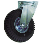 Swivel Wheel with Air-Filled Tire