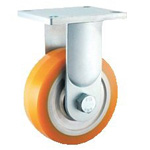 High Hardness Urethane Caster Fixed Wheel for Super Heavy Weights (HDUK Type)