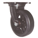 Swivel Wheel with Rubber Wheel for Heavy Loads, Marine Specifications (MHA-mg Type)