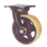 Swivel Wheel with Urethane Wheel for Heavy Loads, Marine Specifications (MUHA-mg Type)