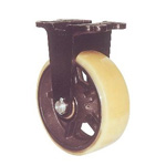 Fixed Wheel with Urethane Wheel for Heavy Loads, Marine Specifications (MUHA-mk Type)