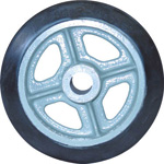 Rubber Wheel for Medium Loads (SA Type) Without Bearing