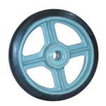 Rubber Wheel for Medium Loads (SB Type) with Bearing