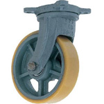 Swivel Wheel with Urethane Wheel for Heavy Loads (UHB-g Type) FCD Ductile Hardware