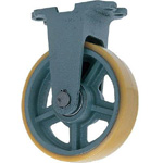 Fixed Wheel with Urethane Wheel for Heavy Loads (UHB-k Type) FCD Ductile Hardware