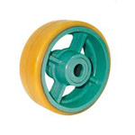Urethane Rubber Wheel for Heavy Loads (UHB Type)