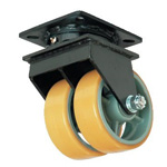 Dual Wheel Caster for Super Heavy Weights, Swivel Wheel (UHBW-g Type / MCW-g Type)