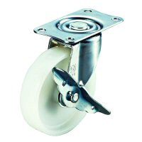 E-S Type Swivel Wheel Plate Type (with Stopper)