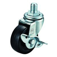 LT-S Model Swivel Wheel Screw-In Type (With Stopper)