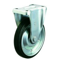 Silent Caster Fixed Wheel Plate Type