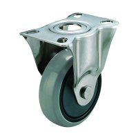 SUS-SK Type Fixed Wheel Plate Type