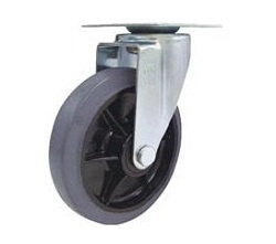 Industrial Quiet Caster, Swivel Wheel