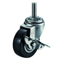 SUS-ST-S Type Swivel Wheel Screw-in Type (with Stopper)