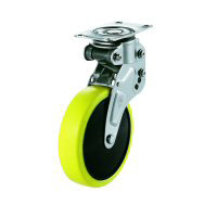 NPG Type Swivel Plate Type Anti-Static Urethane Wheel