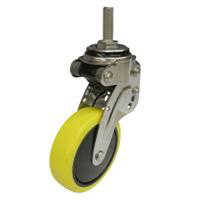 NPT Type Swivel Wheel Screw-in Type Anti-Static Urethane Wheel