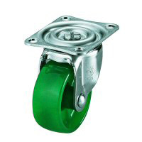 G Type Swivel Wheel (Single Bearing) Plate Type, Polycarbonate Wheel