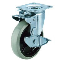 J2K-S Type Swivel Wheel (Swivel Fixed Type) Plate Type
