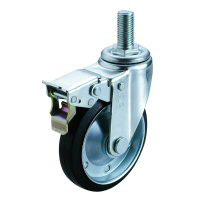 SJT-SW Type Swivel Wheel Screw-in Type (with Double Stopper)