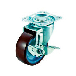 SG-S Type Swivel Wheel Plate Type (with Stopper)