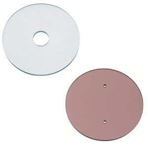 Resin Circular Plates - with HolesImage